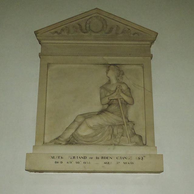 All Saints, Bingley - Ferrand memorial (2)