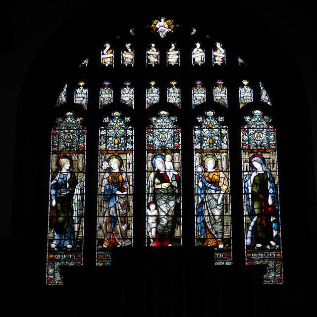 All Saints, Bingley - east window