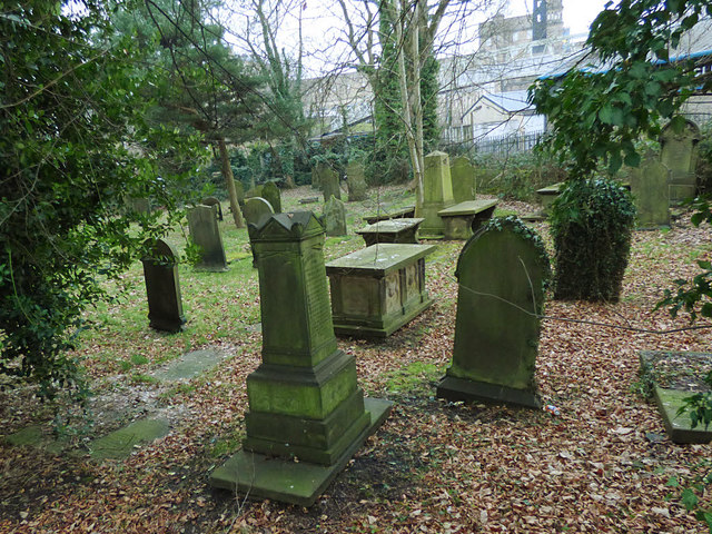 All Saints, Bingley - detached churchyard (1)