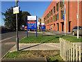 SP1955 : New signage, Stratford-upon-Avon Hospital by Robin Stott