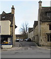 SP2512 : Western end of Church Lane, Burford by Jaggery