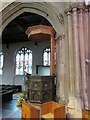 SU4767 : Side view of the pulpit by Bill Nicholls