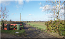 SP5906 : Track to Warren Farm by Des Blenkinsopp