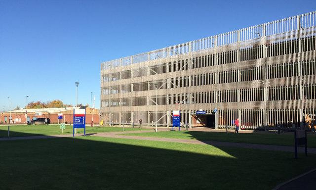 New multistorey car park for Stratford-upon-Avon Hospital