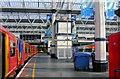 TQ3179 : Waterloo station, Platform 3 at barriers, 2007 by Ben Brooksbank