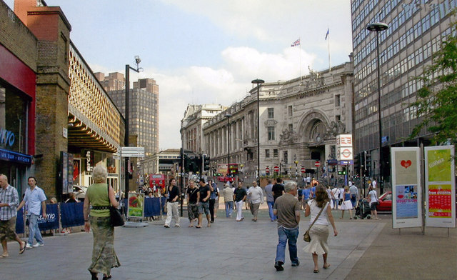 Mepham Street and Waterloo Station, 2007