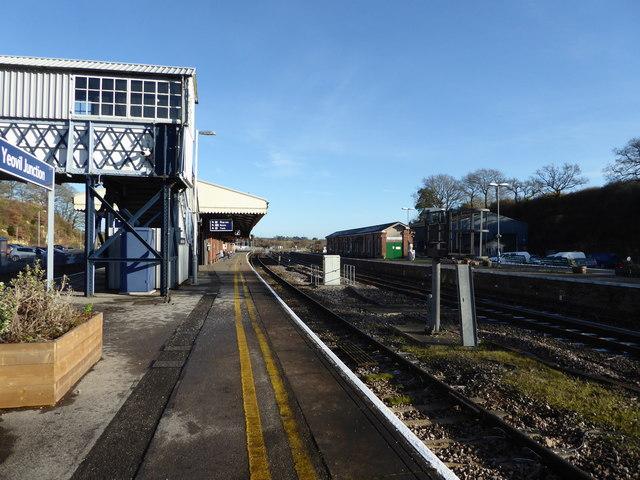 Yeovil Junction Station