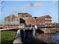SE4225 : Queens Mill Castleford by derek dye