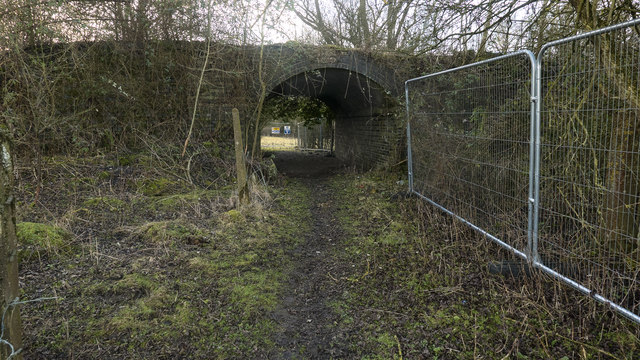 Access Culvert Under the Great Central Railway