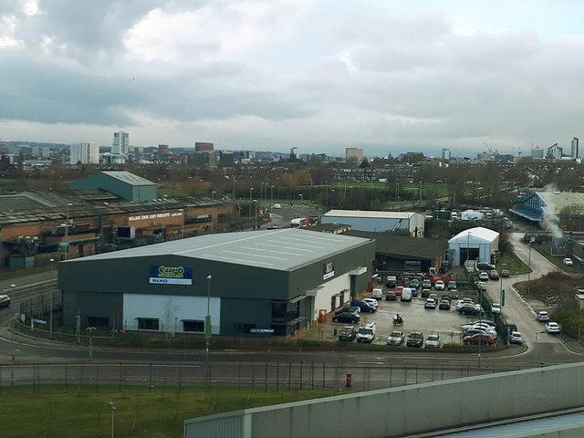 Euro Car Parts Pontefract Lane Leeds C Stephen Craven Geograph
