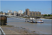 TQ3680 : Doubletree Docklands Pier by N Chadwick