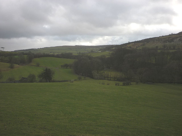 The valley of Lupton Beck
