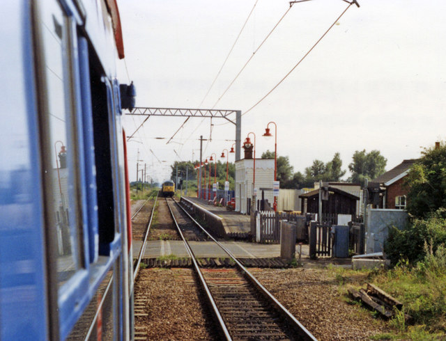Watlington station, 1992