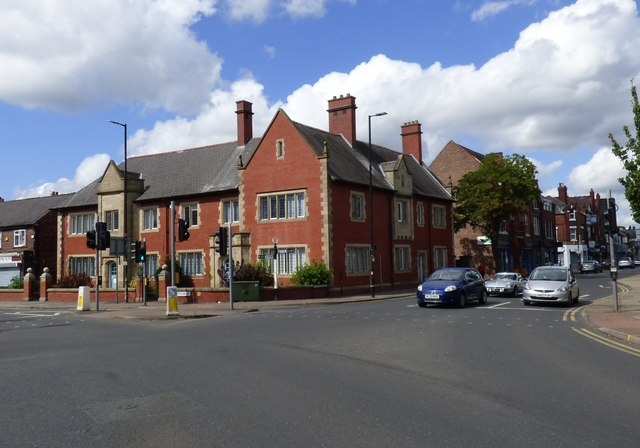 Junction of Church Road and Station Road