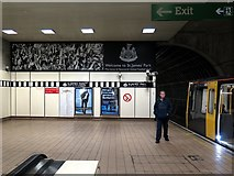NZ2464 : St James Metro Station - end of the line by Andrew Curtis