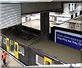 NZ2464 : St James Metro Station - platforms from escalator by Andrew Curtis