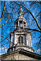 TQ3382 : Tower and spire, St Leonard's Church, Shoreditch by Julian Osley