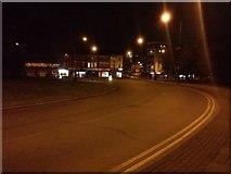 TQ1785 : Roundabout on Harrow Road, Sudbury by David Howard