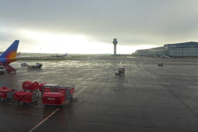 Apron near Terminal 1