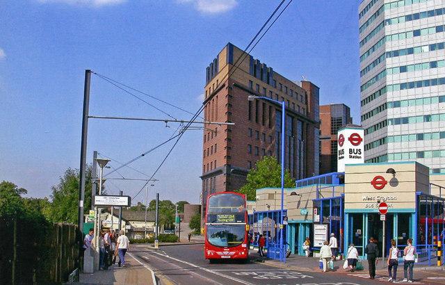 West Croydon, Station Road 2005