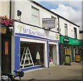 SJ9494 : Willow Wood Hospice Shop by Gerald England
