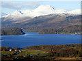 NS4287 : Loch Lomond and Ben Lomond by Thomas Nugent