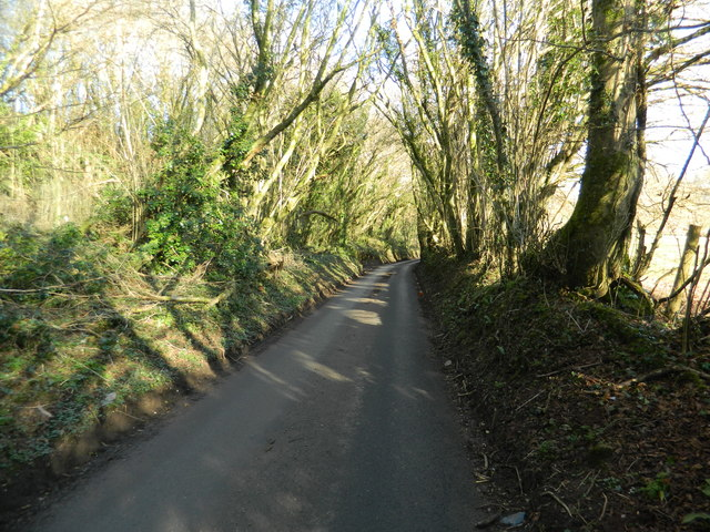 Lane near Llanharry