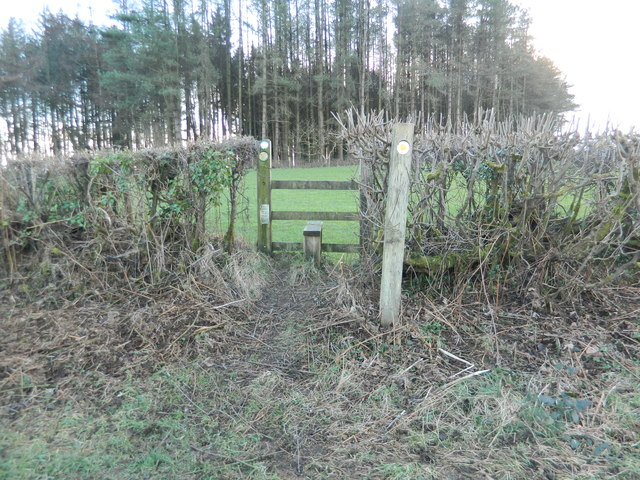 Stile to Valeways Millennium Heritage Trail