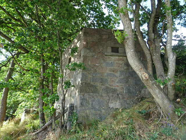 Pillbox on the old Ballater Road