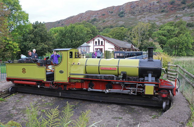 Ravenglass & Eskdale Railway - Dalegarth Station
