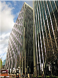 TQ2879 : Canyon south of Bressenden Place, SW1 by Mike Quinn