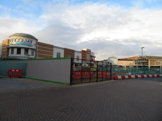 Redevelopment of shopping area in King's Lynn, Norfolk - 2