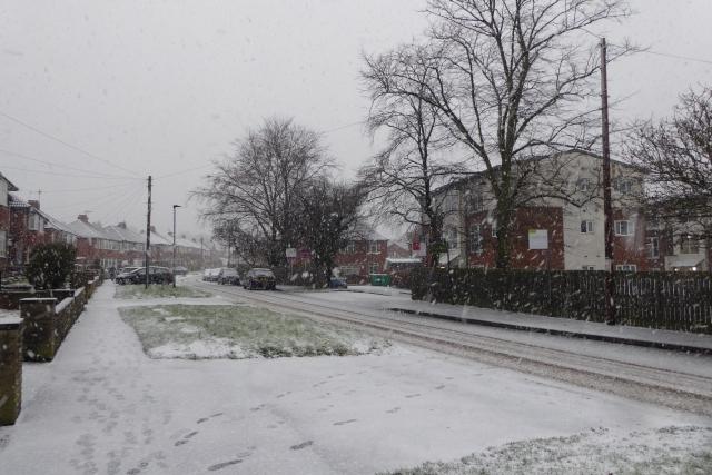 Snow on Thief Lane