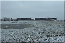 SE6350 : Heslington East in the snow by DS Pugh