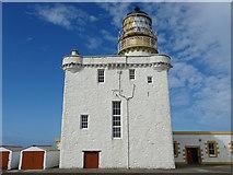 NJ9967 : Kinnaird Head - Old lighthouse by John M