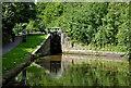 SJ8839 : Trentham Lock south of Stoke-on-Trent by Roger  Kidd
