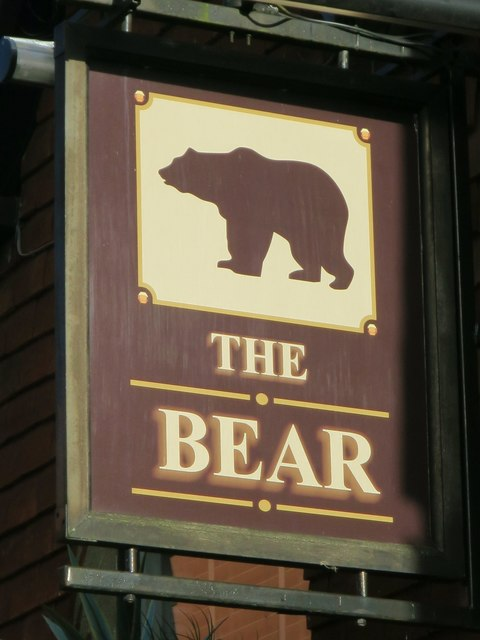 The Bear sign