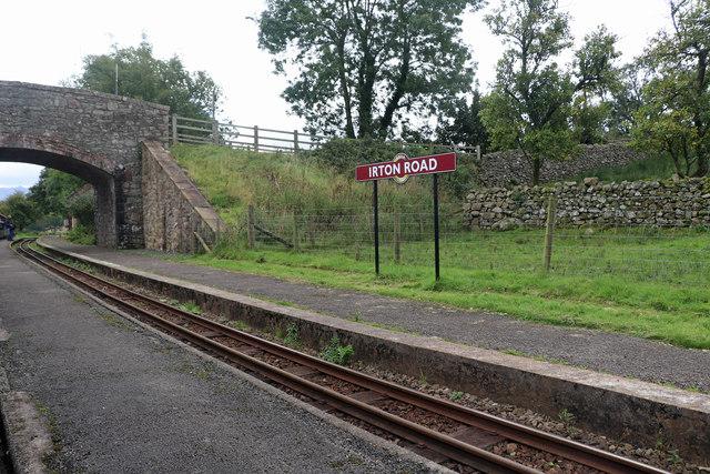 Ravenglass & Eskdale Railway - Irton Road Station