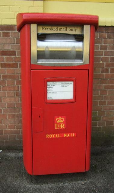 Royal Mail business box on Cumberland Street, Hull