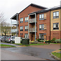 TL4856 : Cherry Hinton: Upperhall Court by John Sutton