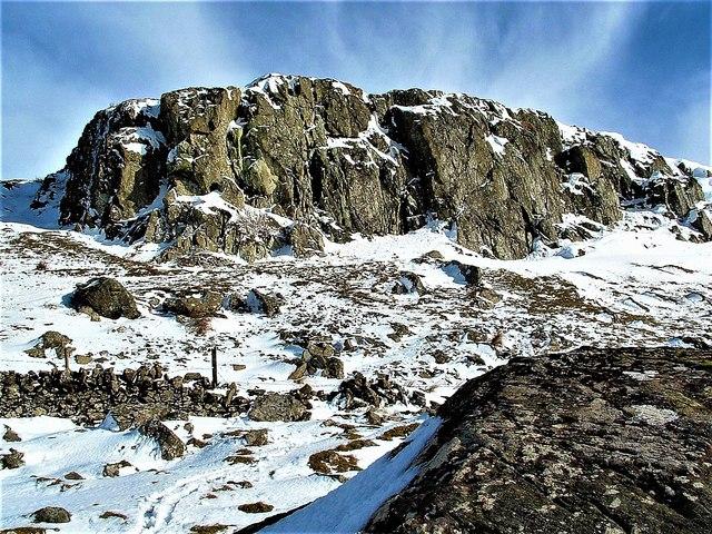 The Quadrocks (Cauld Rocks) Main Crag -  Largs