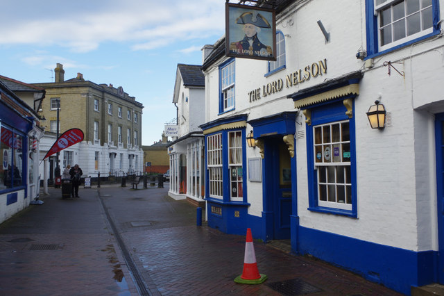 The Lord Nelson, Hythe