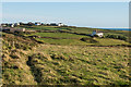 SW6912 : Towards Lizard village and Porth Vean House by Ian Capper
