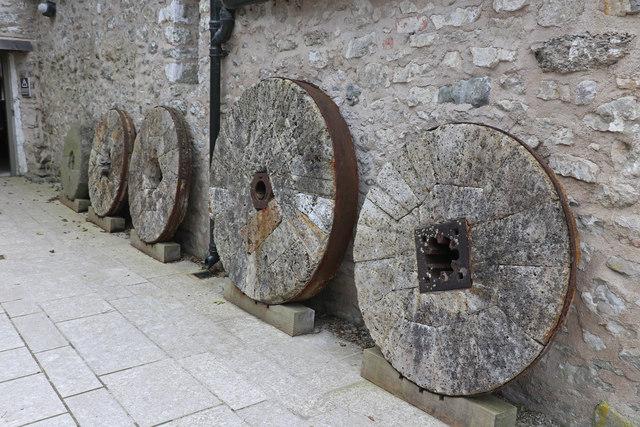 Heron Mill- mill stones