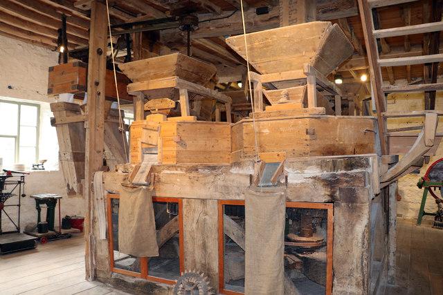 Heron Mill - machinery