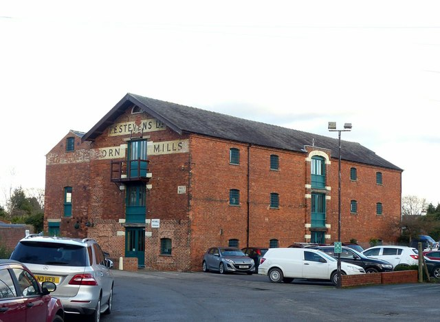 Trent Corn Mill No.1, Shardlow