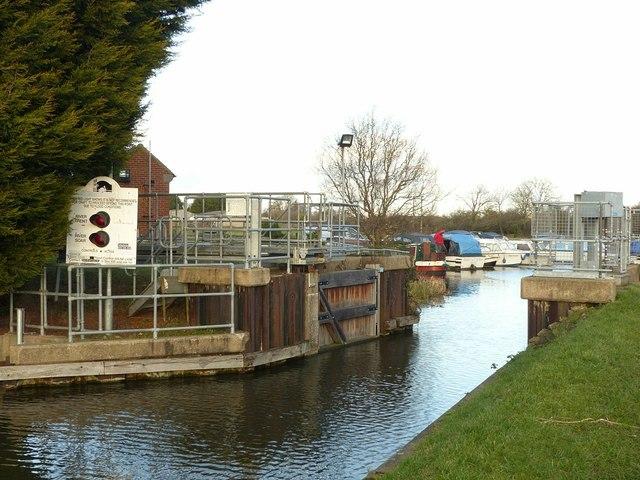 Shardlow flood gate
