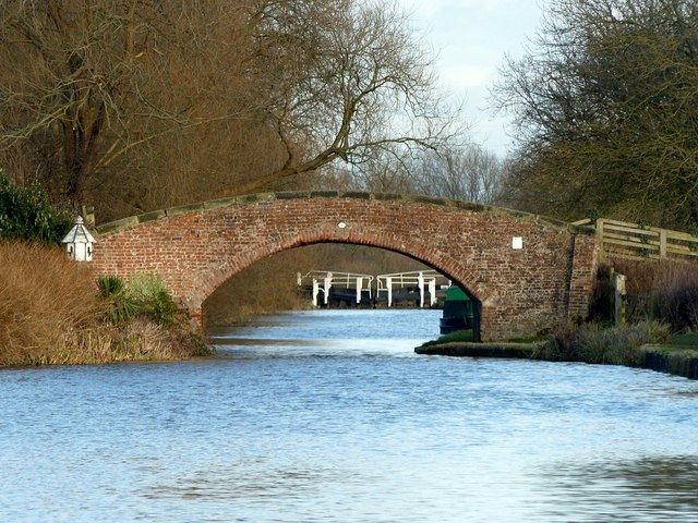 The bottom reach of the Trent and Mersey Canal
