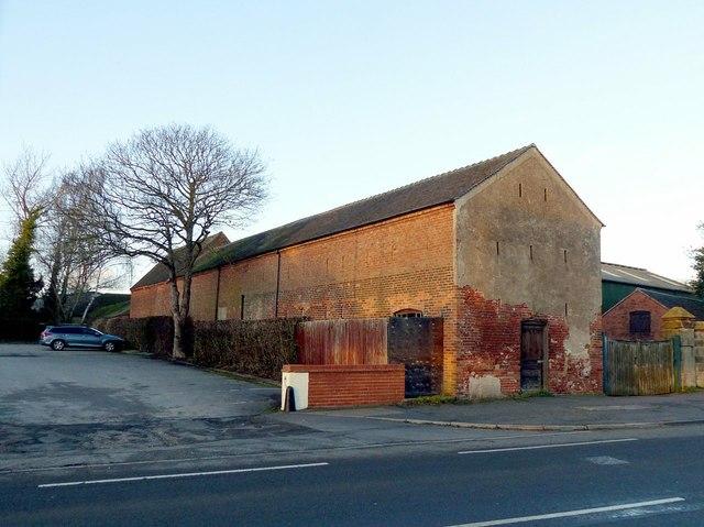 Barn range at Home Farm, Shardlow