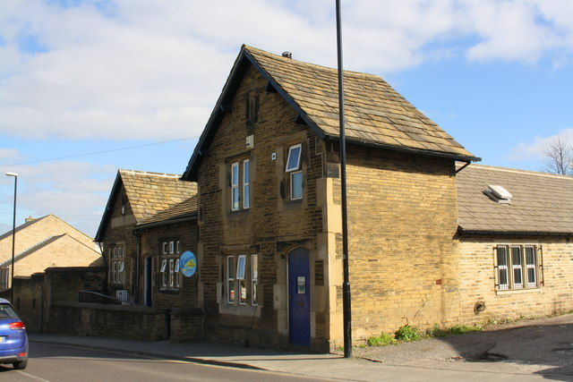 Former School and Sunday School, Lowtown